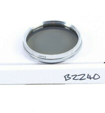 Hoya 52mm polariser silver rim - rare - no scratches (B2240)