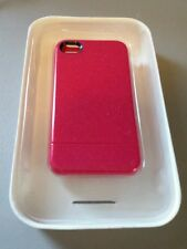 INCASE CRYSTAL SLIDER CASE + STAND APPLE IPHONE 4 4S HARD SHELL PINK RASPBERRY