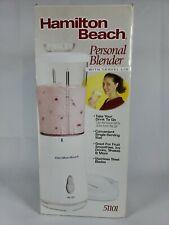Hamilton Beach Personal Single Serve Blender with Travel Lid, White (51101)