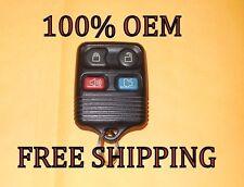 100% OEM 99 00 01 02-12 FORD MUSTANG GT TAURUS SHO KEYLESS REMOTE ENTRY FOB
