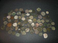 Medieval Silver Billon 77 Coins Lot 1100-1500's Crusader Templar Cross Ancient
