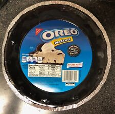 NEW NABISCO OREO PIE CRUST MADE WITH REAL COOKIE PIECES 1 PER PURCHASE  BUY NOW