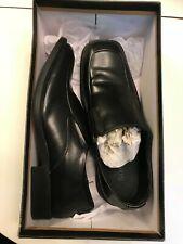 BORELLI Men's Size 10.5 M MATTHEW Black Slip-On Loafers Dress Shoes BRAND NEW