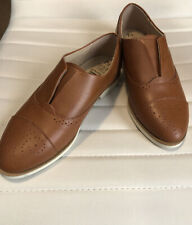 BRAND NEW WOMEN'S SIZE 7.5 TIME AND TRU SLIP ON OXFORD SHOES