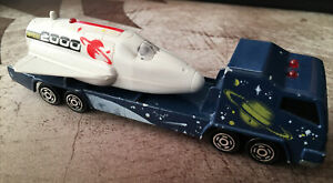 Majorette Sonic Flashers Series 2360 ODYSSEE 2000 Space Shuttle Tractor Trailer
