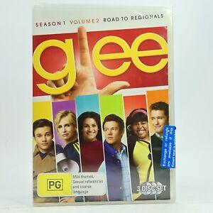 Glee - Road To Regionals : Season 1 : Vol 2 (DVD, 2010, 3-Disc Set) New Sealed