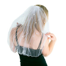 Plate Comb Veil Bride to be Pink & white Flashing Tiara Hen Party Accessories