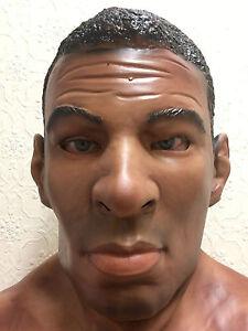 Black Male Man Latex Mask Halloween Fancy Dress Costume Masks Boxer Ali