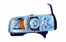IPCW CWS-401C2 Pair of Chrome Housing Projector Headlights w/Rings for Dodge Ram