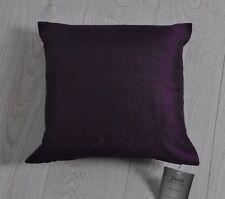 Tuni 55 Silk Cushion Including Inner Pad 40 X 40cm Aubergine