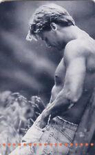 2003 Nude handsome muscular man photo Erotic German Phone card gay int
