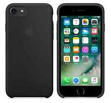 """BLACK GENUINE Apple Silicone Case For iPhone 7 4.7"""" NEW in SEALED RETAIL BOX"""