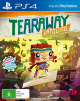 Tearaway Unfolded PlayStation 4 PS4 Game Brand New Sealed
