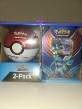 Pokemon Trading Card Game Tin Glaceon Gx Poke Ball Tin 3 Pokemon TCG Booster Pk