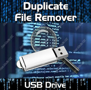 DUPLICATE FILE FINDER REMOVER - LOCATE FILES IMAGES MUSIC DATA PHOTOS PICTURES