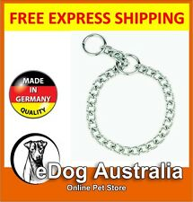 Sprenger Dog Check Collar - Round Link Chrome Plated Choker Chain - Heavy 3.0mm