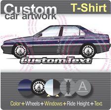 Custom T-shirt Alfa Romeo 164 Super 3.0 V6 24v 87 88 89 90 91 92 93 94 95 96 97