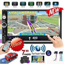 "7"" Autoradio 2 Din De Coche Pantalla Tactil Android / IOS Enlace espejo MP5 FM"