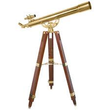 Barska Anchormaster Classic Brass Telescope Spyscope w/ Tripod, 36x80mm, AE10824