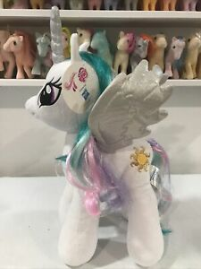 "NWT My Little Pony 19"" Build-a-Bear Workshop Princess Celestia New With Tag BAB"