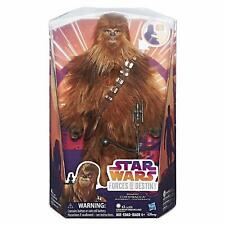 NEW OFFICIAL STAR WARS FORCES OF DESTINY ROARING CHEWBACCA FIGURE TOY