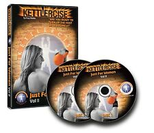 Kettlercise Just for Women 'Volume 2' Workout DVD PLUS 2kg Kettlebell package