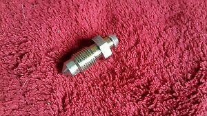 Reliant Regal, Robin, Fox 3/8 x 24 unf  PLATED bleed nipple screw