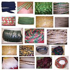 Lot of Variety of Upholstery, Trims, Cords, Fringes, Tassels & Pillow Fabrics.
