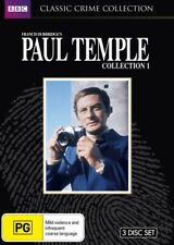 Paul Temple : Collection 1 (DVD, 2012, 3-Disc Set)--free postage
