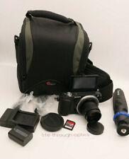 Sony Alpha NEX-3N 16.1 MP Digital Camera + 35mm F1.7 Lens + TRIPOD & EXTRAS