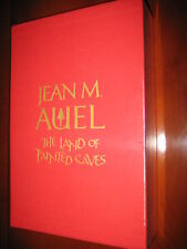 Signed Limited Slipcased First Edition. Land of Painted Caves By Jean M Auel