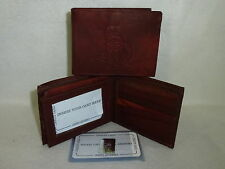 OTTAWA SENATORS    Leather BiFold Wallet    NEW   dkb4 z