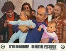 LOUIS DE FUNES L'HOMME ORCHESTRE 1970  PHOTO D'EXPLOITATION ORIGINALE N°7