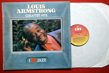 LOUIS ARMSTRONG GREATEST HITS W/INNER EXYUGO LP