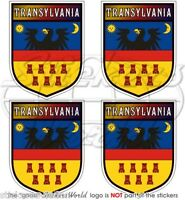 TRANSILVANIA Scudo Romania Adesivi in Vinile per Auto-Casco 50mm Stickers