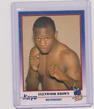 (100) 1991 KAYO GLENWOOD BROWN BOXING CARDS #137 ~ NEW YORK NY ~ SWEET LOT!!!