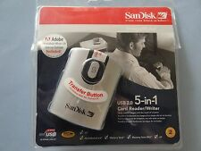 SanDisk Image Mate 5 in 1 USB 2.0 Card Reader/Writer SDDR-99 #3/A