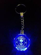 Wigan Athletic Keyring Keychain LED Flashing Football Team With Gift Box