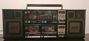 NATIONAL RX-CW200 Stereo Boombox