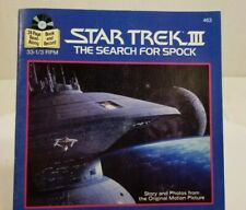 Star Trek III The Search for Spock  24 Page Read-Along Book and Record