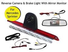 Mercedes Sprinter Van Reversing Reverse Camera Brake Light and Monitor 07 - 19