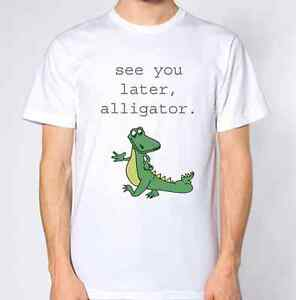 See You Later Alligator T-Shirt Dinosaur Top
