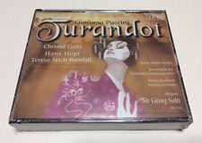 PUCCINI - JURANDOT - SOLTI (2 CD), New And Sealed, Free Shipping