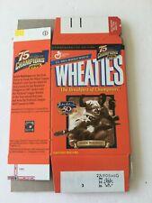 Mini Wheaties box Jackie Robinson 75 years of champions empty - flat 1999