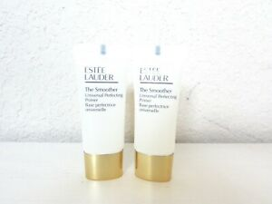 2 x Estee Lauder The Smoother Universal Perfecting Primer 0.5 Oz / 15 ml each