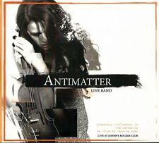 ANTIMATTER - LIVE BAND LIVE AT JOHNNY ROCKER CLUB (2011) RARE POLISH CD MINT