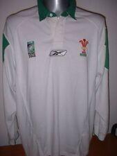Wales Cymru Rugby Union Shirt Jersey Reebok Adult XL World Cup 2003 Top Change