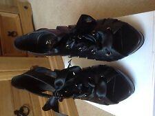 Aldo Black Peep Toe Platform Shoe Size 6