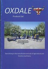 Farm Equipment Brochure - Oxdale - Product Line Overview - Forestry (F5515)