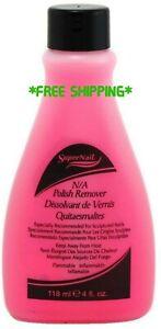 Super Nail Non-Abrasive Polish Remover, 4 oz *FREE SHIPPING*
